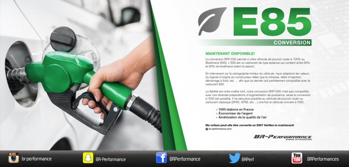 BR-Performance Conversion E85 !