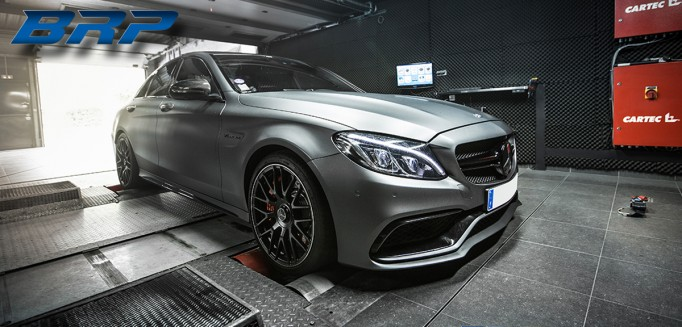MERCEDES C63 AMG-S 4.0 Bi-turbo 510hp (Stage 2)