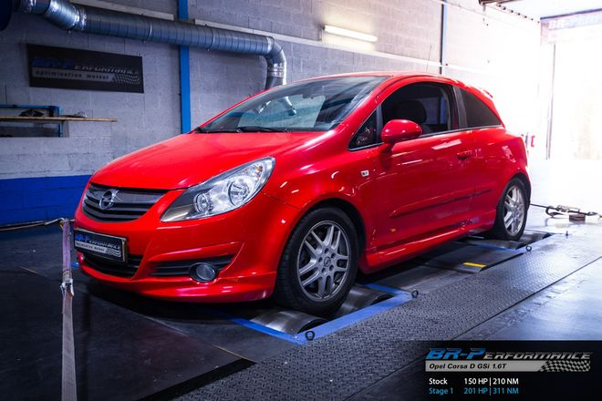 opel corsa d gsi 1 6t stage 1 br performance luxembourg. Black Bedroom Furniture Sets. Home Design Ideas