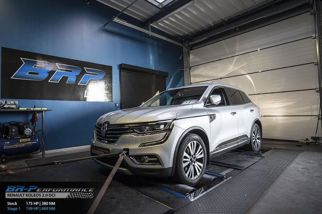 renault koleos 2 0 dci stage 1 - br-performance luxembourg