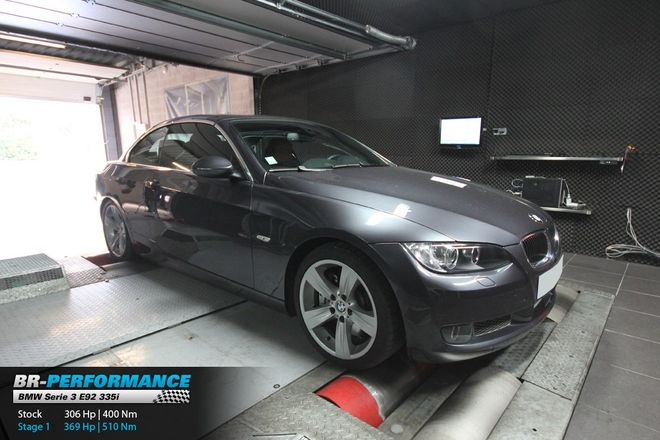 BMW Serie 3 E9x 335i - N54 stage 1 - BR-Performance